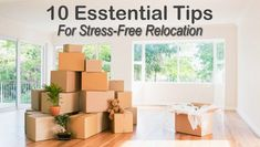 10 Essential Tips For Stress-Free Relocation Moving Home, Moving Day, Moving Stress, Moving Checklist, 10 Essentials, Packers And Movers, Going On Holiday, Take A Shower, Large Homes