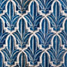 I love uniquely shaped tiles, these are gorgeous for a patio or a spa-retreat master bath.