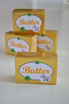 Butter für den Kaufladen selbstgemacht