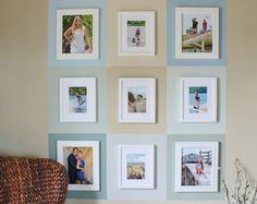 …et je l'ai transformé en un mur plein de vie. J'ai choisi d'utiliser 9 couleurs différentes, qui font tous partie de la palette de couleurs de ma maison. Le choix des couleurs est important pour rester harmonieux surtout si vous utilisez une peinture que vous avez déjà à portée de main ! Dans mon cas, le coût de cette réalisation sera faible.