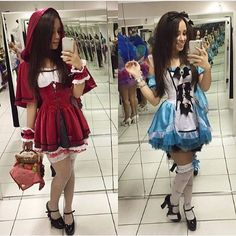 #ALICE #REDRIDINGHOOD <3 #TEENS <3 <3 Hot Halloween Costumes, Halloween Inspo, Halloween Outfits, Adult Costumes, Red Riding Hood Costume, Halloween Disfraces, Festival Outfits, Amazing Women, Clothes