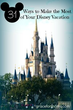 Disney Vacation Tips. How One Family Did A 6 Day Vacation With 3 In The Parks For Under $650 Per Person!!