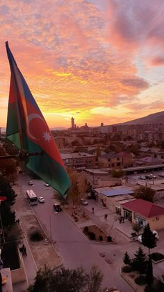 Azerbaijan Travel, Azerbaijan Flag, Baku City, Cute Disney Outfits, Cute Black Wallpaper, Aesthetic Words, Aesthetic Wallpapers, Airplane View, Country