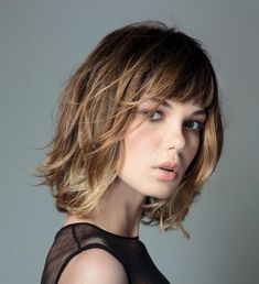 If you are looking for a lovely and adorable hairstyle for your hair you may tr Fringe Hairstyles adorable Hair Hairstyle Lovely Short Hair Cuts, Short Hair Styles, Short Bangs, Blunt Bangs, Thin Wavy Hair, Wavy Bangs, Bob Bangs, Straight Hair, Curly Hair