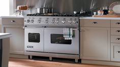 "48"" Gas Range Glam Kitchen Pantry, Kitchen And Bath, New Kitchen, Kitchen Dining, Kitchen Decor, Kitchen Cabinets, Kitchen Appliances, Kitchens, Kitchen Ideas"