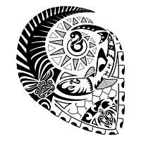 polynesian designs and patterns   TATTOO TRIBES - Shape your dreams, Tattoos with meaning - voyage ...