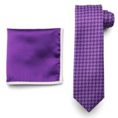 Van+Heusen+Glow-In-The-Dark+Diamond+Skinny+Tie+&+Pocket+Square+Set+-+Men