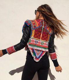 Fetiche jacket #tribal
