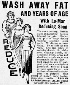 Slimming soap--if only......