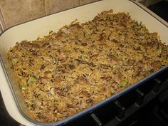 side dish to try-- wild rice casserole