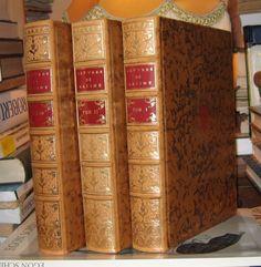 """""""Oeuvres de RACINE"""" 1760 Reed Michel de l'Ormeraie Plein Cuir aux Armes ill 3Vol"""