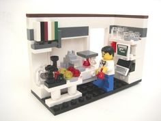 Lego lab - Awesome piece of geek art