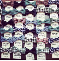 蝶ネクタイのプレゼント