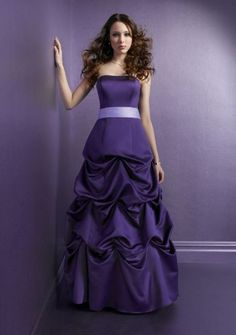 Stunning and Sweet Long Purple Prom Dresses