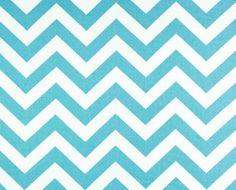Chevron Wedding Pool Aqua Blue and White by exclusiveelements, $16.00