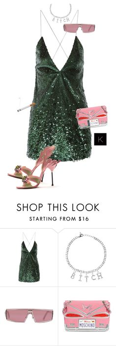 """""""Untitled #4019"""" by kimberlythestylist ❤ liked on Polyvore featuring Marc Jacobs, Prada, Christian Dior and Moschino"""