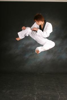 Taekwondo, my son and daughter do this