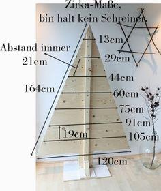 DIY Navidad: árbol de madera : x4duros.com