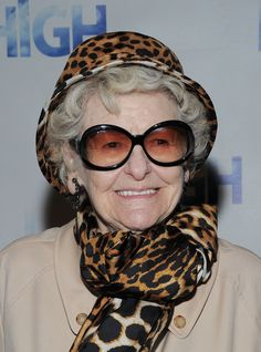 Elaine Stritch Actress Elaine Stritch attends the Broadway opening ...