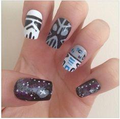 In a galaxy far far away..... These nails rule the galaxy.