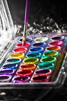 Rainbow | Arc-en-ciel | Arcobaleno | レインボー | Regenbogen | Радуга | Colours | Texture | Style | Form |   paint box