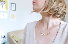 Kim necklace by Shlomit Ofir as seen on Toupie