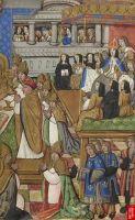 1517 -  Le Sacre de Claude de France,  church mass for the coronation of Claude de France - attributed to Jean COENE IV