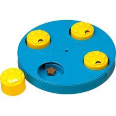 Kyjen Dog Games Treat Wheel Dog Toy Puzzle