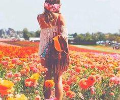 #hippielife #freespirit #meadow #flowers