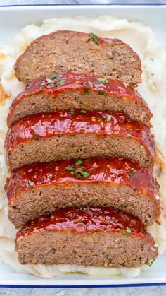 Meatloaf Recipe that is flavorful and juicy on the inside, with a delicious glaze spread on the outside. #meatloaf #dinnerrecipe #easyrecipe #beefrecipe #sweetandsavorymeals Meatloaf Glaze, Homemade Meatloaf, Classic Meatloaf Recipe, Meat Loaf Recipe Easy, Best Meatloaf, Meatloaf Recipes, Meat Recipes, Cooking Recipes, Vegetarian Recipes