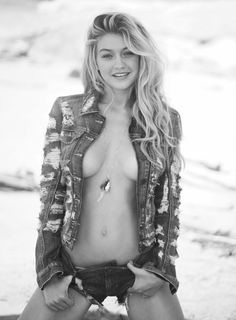 Gigi Hadid for Guess Spring/Summer 2015 Campaign