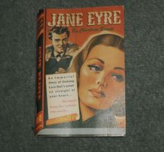 Vintage JANE EYRE by Charlotte Bronte Quick Reader #110 1944 Mini Paperback Book