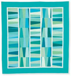 Pathways quilt by Rachel Griffith, from the book Quilts Made with Love