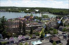 Geauga Lake, Aurora OH.  Park has closed but I had to put this in to remember the fun we had at Geauga lake Park in the summer in Ohio.
