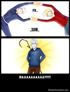 Canada, Prussia, and Jack (...*proccessing*...OH MY GOSH!!!This makes soooo much sense!) from: Hetalia