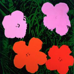 Andy Warhol, Flowers (1964), © 2015 The Andy Warhol Foundation for the Visual Arts, Inc. / Artists Rights Society (ARS), New York.  See our feature on the Warhol's Nature exhibt at the Crystal Bridges Museum of American Art here » bit.ly/CMFallArtWear
