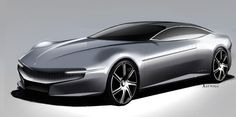 Pininfarina Cambiano Concept - Design Sketch