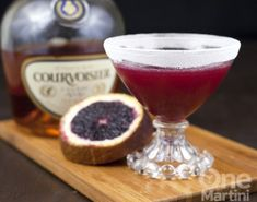 Marianne {a blood orange cognac cocktail}
