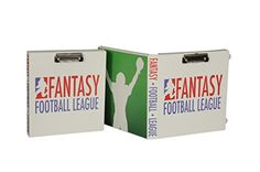Fantasy #Football Binder - on Amazon amzn.to/1LAs3xg #fantasytfootball Whether you're playing for bragging rights or playing for the big bucks, our Fantasy Football binder is the ideal tool to being successful. This spacious binder allows you to add as many sheet protectors and tab dividers to help keep all of your crucial documents organized and in place. Take your love for Fantasy Football to a more intense level!
