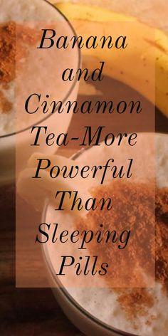 Banana and Cinnamon Tea for Deep Sleep (More Powerful Than Sleeping Pills)!!!