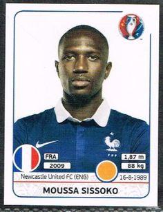 Moussa Sissoko France Nr 0031 #euro2016 #france #stickers #panini #midfielder…