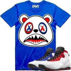 84be89d0acff52 Jordan 10 Westbrook Sneaker Tees Shirts by BAWS sneaker tee shirts to match  is available on