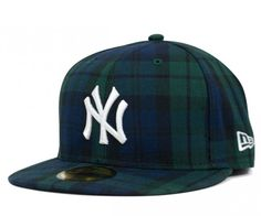 New Era NY Yankees tartan check pack