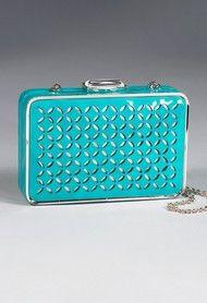 Laser Cut Box Handbag Clutch bag