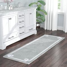 Willa Arlo Interiors Hayley Bath Rug Size: x Color: Gray Perfect Rug, Decor, Rugs, Rug Design, Bathroom Decor, Cool Rugs, Bathroom Rugs, Home Decor, Classy Rugs