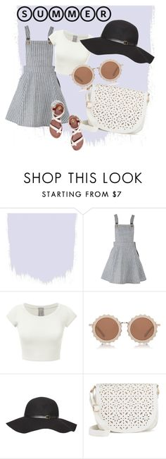 """Dressed to chill"" by roisinmiles ❤ liked on Polyvore featuring House of Holland, Dorothy Perkins, Under One Sky, Tory Burch and summerhat"