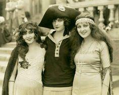 Belle Epoque Actresses, Ann Pennington (1893-1971), Jacqueline Logan (1901-1983) and Billie Dove (1903-1997)