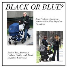 """Black or Blue?"" by babyblau ❤ liked on Polyvore featuring women's clothing, women's fashion, women, female, woman, misses, juniors, Bugaboo, stroller and cameleon"
