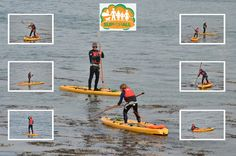 This is what SUP means to us Paddle Boarding, Basketball Court, Boards, Action, Outdoors, Sports, Planks, Hs Sports, Group Action
