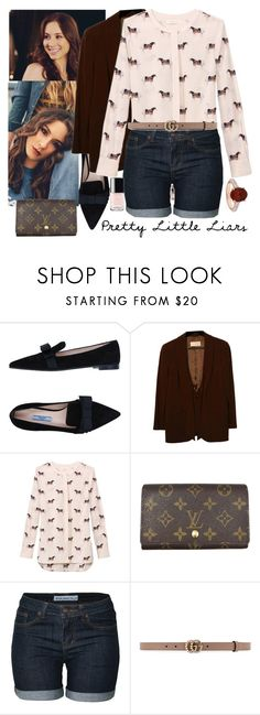 """Spencer ♡"" by faanciella ❤ liked on Polyvore featuring Prada, Valentino, Tory Burch, Louis Vuitton, Gucci, Allurez and Chanel"